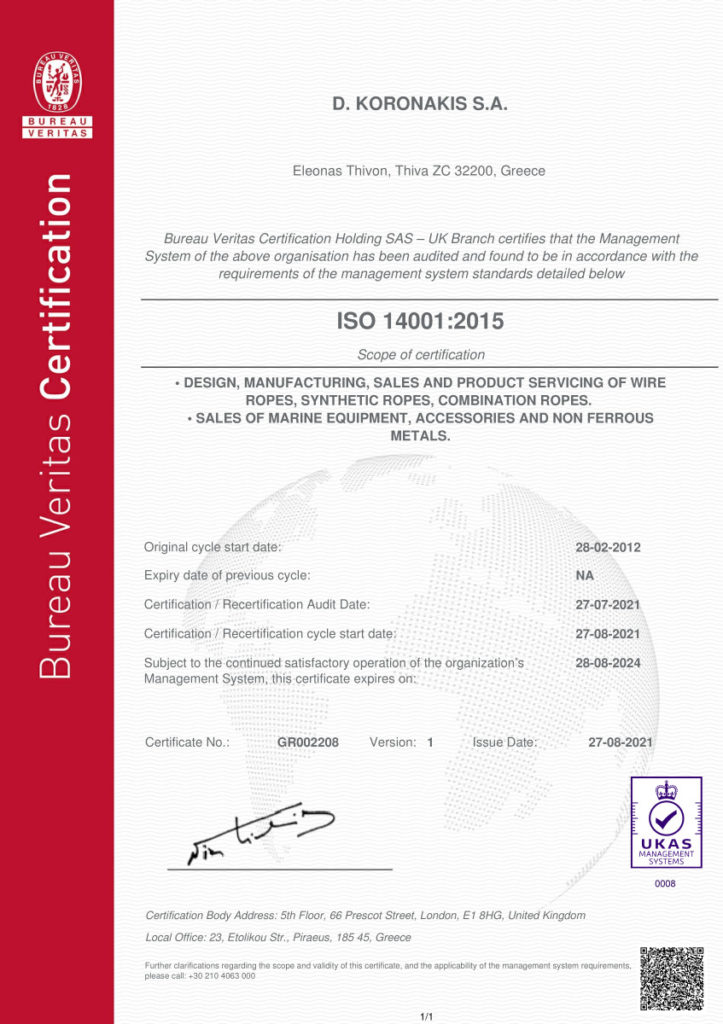 ISO 14001 2015